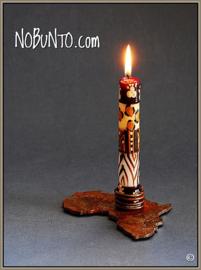 Nobunto Set 2 Dinnerkaarsen met cadeaukaartje