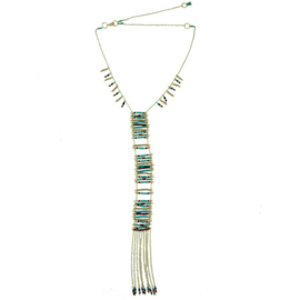 Sea & Earth Ladder Necklace