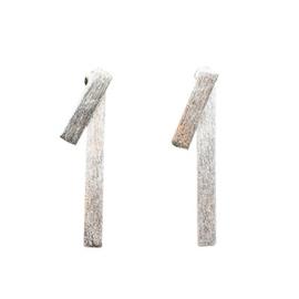 Triton Post Earrings Silver
