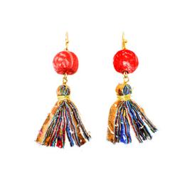 Kantha Adya Drop Earrings