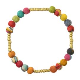 Kantha Byzantine Bracelet