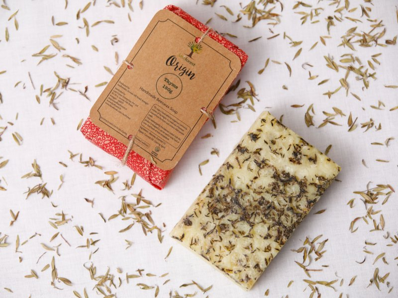 Last forest Origin Beeswax Soap Thyme