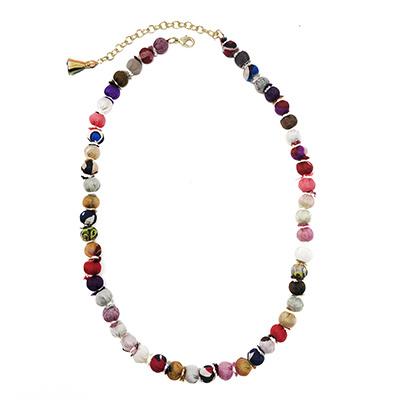 Sari Silk Classic Necklace