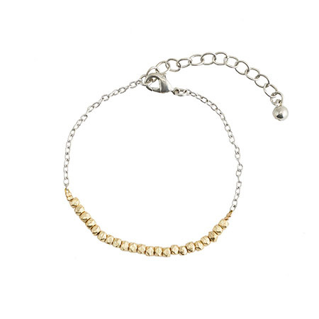 Morning Dew Bracelet - zilver/goud