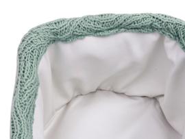 Mandje river knit cactus groen