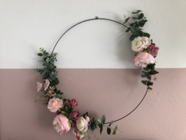 Bloemenkrans (kunstbloemen)