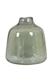 Vaas glas olijfgroen large