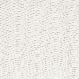 Deken river knit 75 x 100 gebroken wit