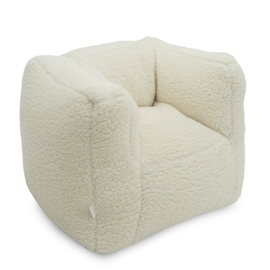 Zeteltje off-white teddy