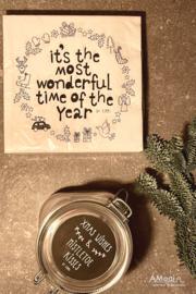 Kerstpakket 'kerstwensen'