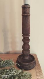 Kandelaar hout hoog (model 2)