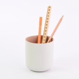 Pencil cup | White