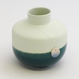 Dip vase | Round  | Mint | 062