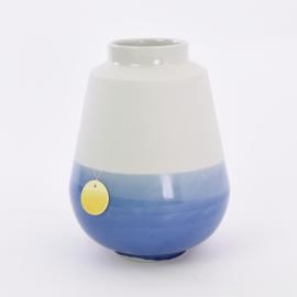 Dip vase   L    Mouse grey 094