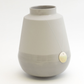 Dip vase | Big | Grey | 090