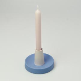 Candle Holder - singel high | Cobalt 169