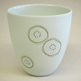 Cup food | Large | Mint | Kiwi