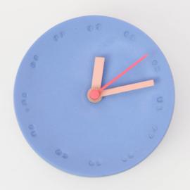 Clock - Small   Cobalt
