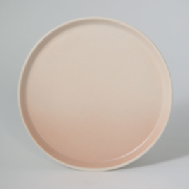 Gradient | Plate | Large | Pink