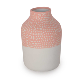 Clay vase | S | Red | Small stripe