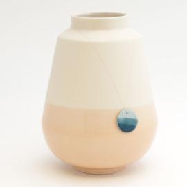 Dip vase | Big | Nude | 067