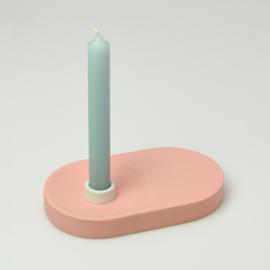 Candle Holder - singel wide | Red 132