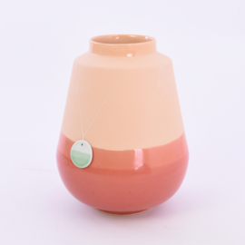Dip vase   L    Orange 059