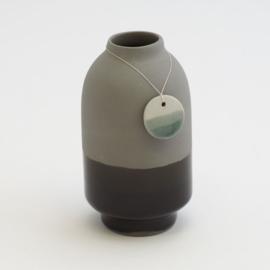 Dip vase | Dark grey | 100