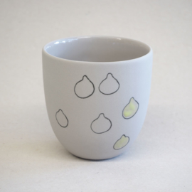 Cup food | Small | Grey | Lemon