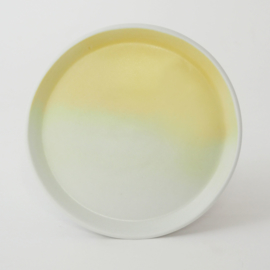 Gradient | Plate | Small | Yellow