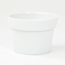 Flowerpot - M - White