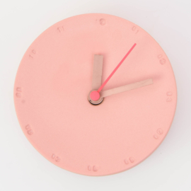 Clock - Small   Red