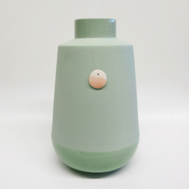 Dip vase | Super big | Green | 071