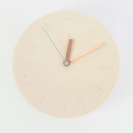 Clock - Large   Nude
