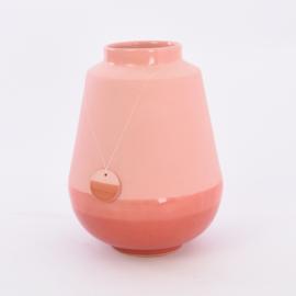 Dip vase   L    Red 059