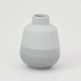Dip vase | S |  Mouse grey 090
