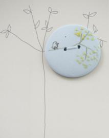 Button | Bird | Blue