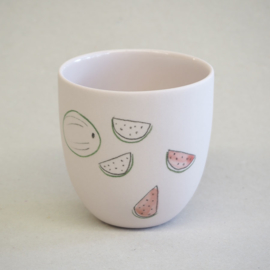 Cup food | Small | Pink | Watermelon