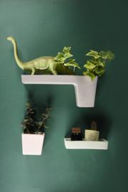 Wall storage | Planter | M | Dark grey