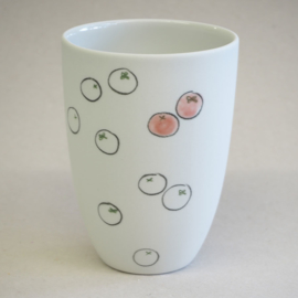 Cup food | Medium | White | Tomato
