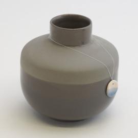 Dip vase | Round  | Dark grey | 090