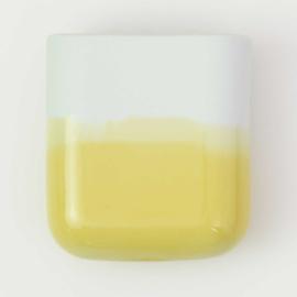 Dip wall vase | Short | Mint 084