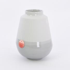 Dip vase   L    Mouse grey 090