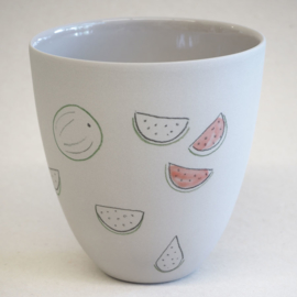 Cup food | Large | Grey | Watermelon