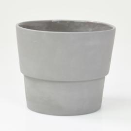 Flowerpot - L - Dark grey
