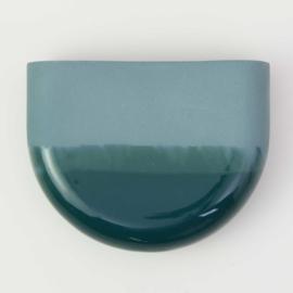 Dip wall vase | Half round | Ocean 062