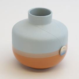Dip vase | Round  | Blue | 054