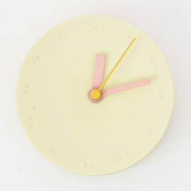 Clock - Small   Yellow
