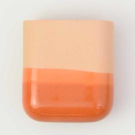 Dip wall vase | Short | Ocean 054