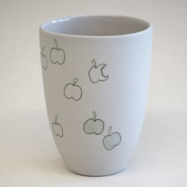 Cup food | Medium | Grey | Apple